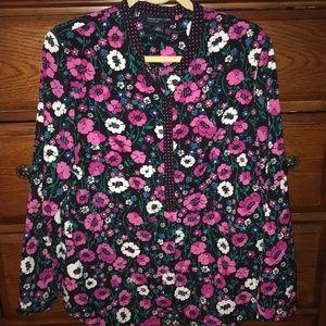 Jones New York floral blouse